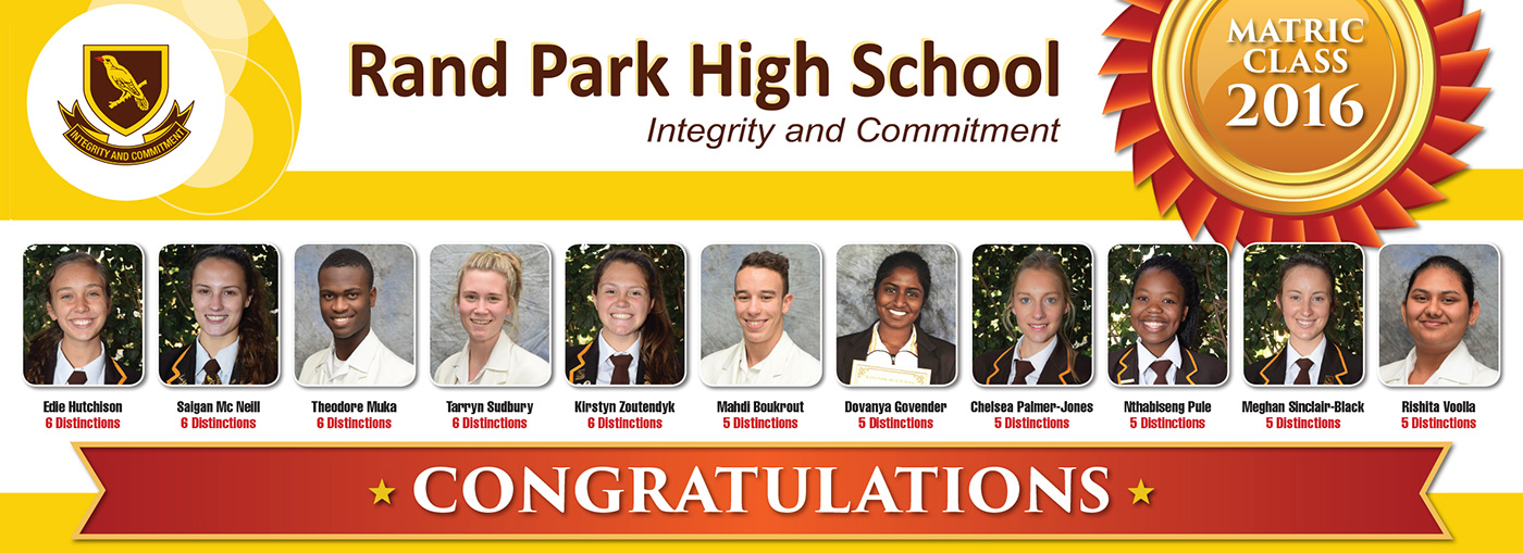 Academics Randpark High School
