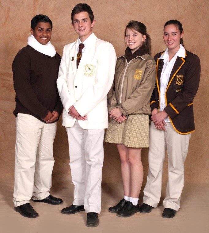 winter school uniform Randpark High School